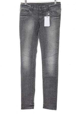 DRDENIM JEANSMAKERS Slim Jeans grau Casual-Look