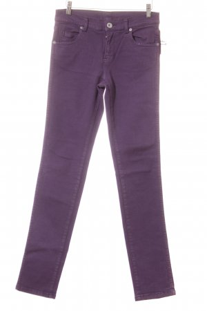 DRDENIM JEANSMAKERS Slim Jeans lila schlichter Stil
