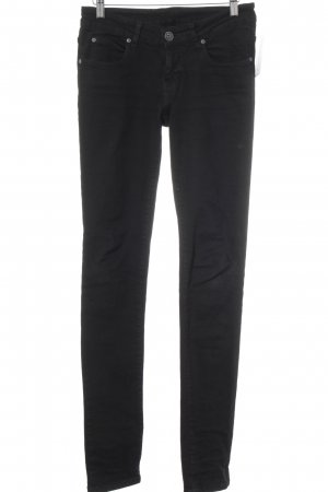 DRDENIM JEANSMAKERS Slim Jeans schwarz Street-Fashion-Look