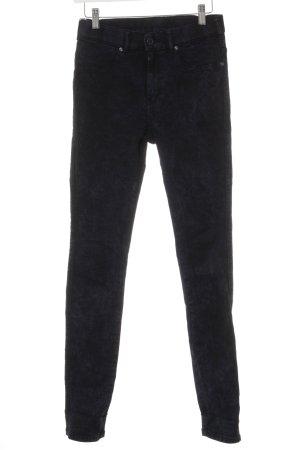 DRDENIM JEANSMAKERS Jeans stretch noir-bleu foncé lavage à l'acide