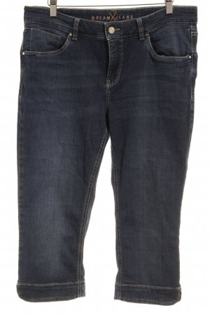 Dream Jeans Tecno by MAC 3/4 Jeans blau Casual-Look