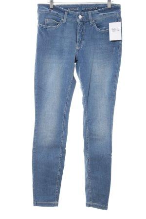 Dream Jeans Tecno by MAC Hüftjeans kornblumenblau Casual-Look