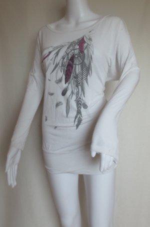 Dreamcatcher Feather Traumfänger Indian Boho Sweat Damen Size S