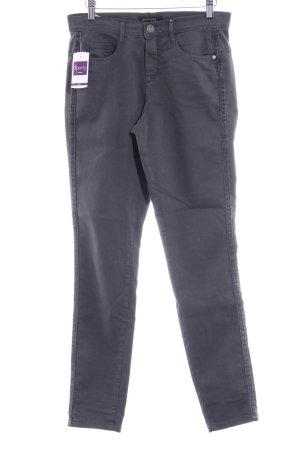 Dreamstar Pantalone a sigaretta grigio scuro stile casual
