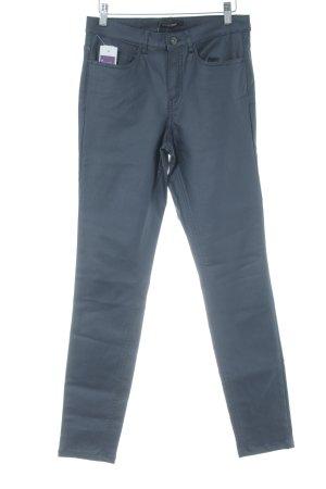 Dreamstar Pantalon strech bleu foncé style mouillé