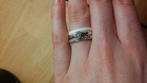 Drei filigrane Ringe