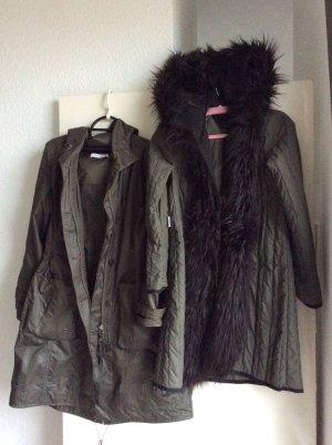 Drei Jacken in einer