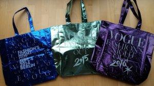 Drei Taschen der Vogue Fashion Night Out 2014-2016