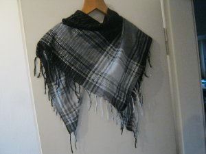 Kerchief black-white