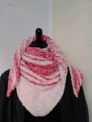 Neckerchief pink-natural white