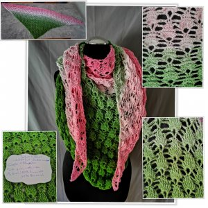 Shoulder Scarf green