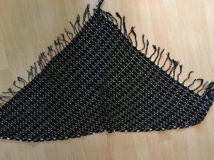 Dreieckstuch schwarz/weiß