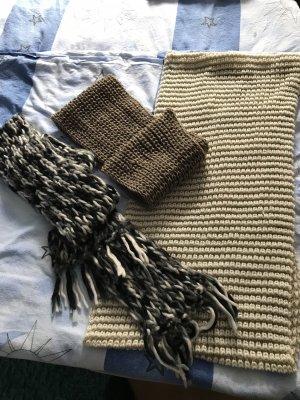 C&A Écharpe en tricot multicolore