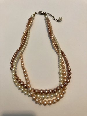 Bijou Brigitte Pearl Necklace rose-gold-coloured-natural white