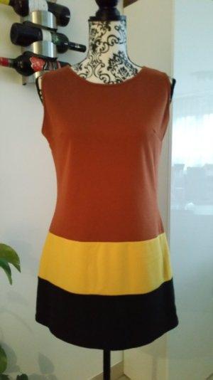 Dreifarbige#Bluse#herbstlich