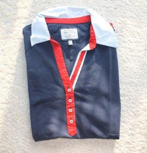 Dreifarbiges Polo T-Shirt