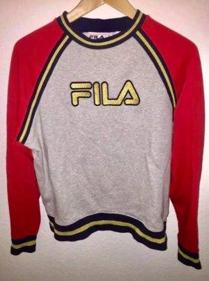 Dreifarbiges Sweatshirt von FILA Größe L