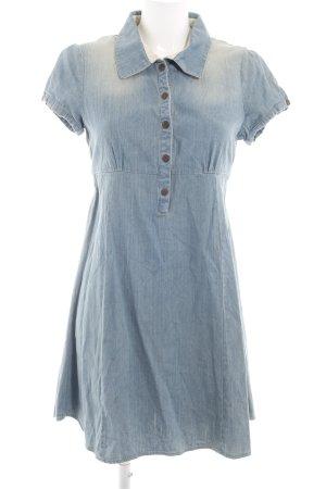 Dreimaster Denim Dress blue casual look