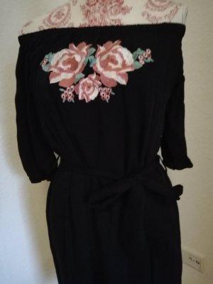 Dreimaster Kleid Bestickt