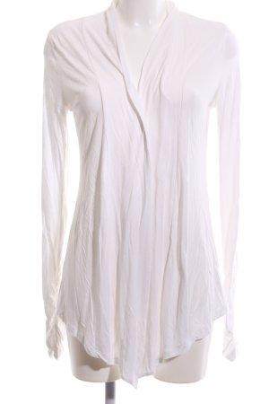 Dreimaster Giacca-camicia bianco stile casual