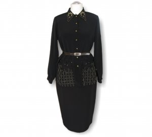 Longsleeve Dress black