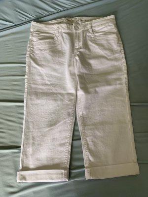 s.Oliver Denim Shorts white