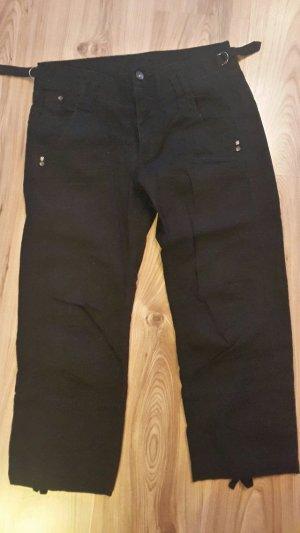 H&M Pantalon 3/4 noir