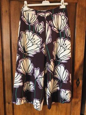 Dreiviertel Marlene Culotte  Bloggerchic Floral 36 Alysi