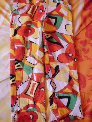 Pantalón capri rojo ladrillo