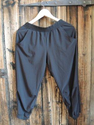 H&M Pantalon de sport noir polyester