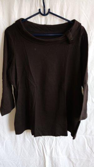 One Touch Boothalsshirt bruin Katoen