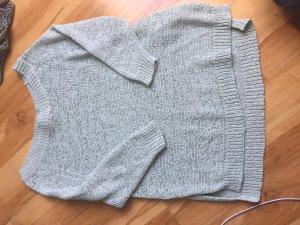 Amisu Sweater met korte mouwen turkoois