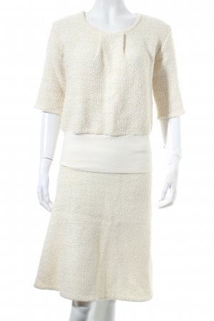 dress' d Ladies' Suit natural white classic style