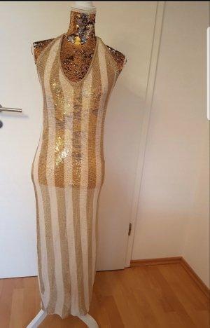 Beach Dress white-gold-colored