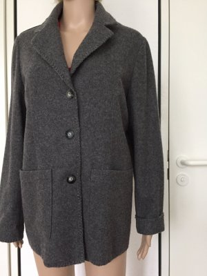 Dress In Wool Blazer dark grey wool
