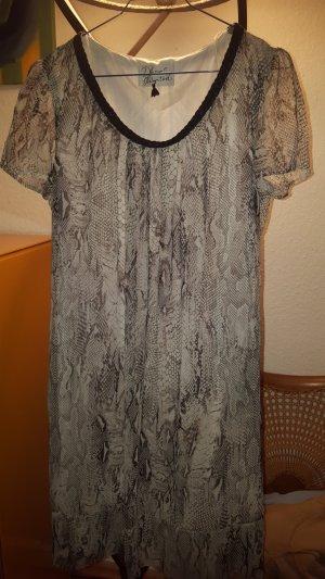 """Dresses unlimited"" Chiffon Kleid Animalprint Gr.36 *neu* snake / Reptil"