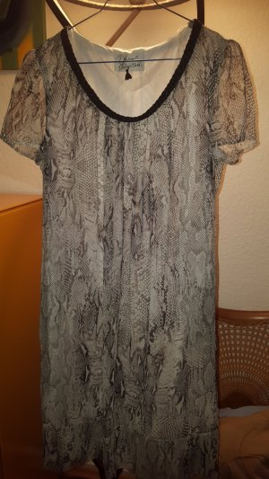 """Dresses unlimited"" Chiffon Kleid Schlangenprint Gr.36 *neu* snake"