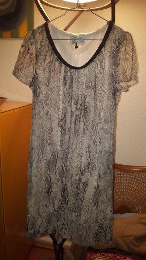 """""""Dresses unlimited"""" Chiffon Kleid Schlangenprint Gr.36 *neu* snake"""