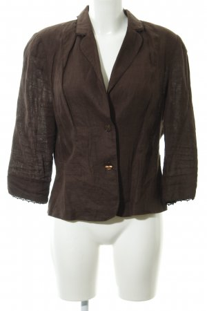 Dresses Unlimited Kurz-Blazer dunkelbraun 90ies-Stil