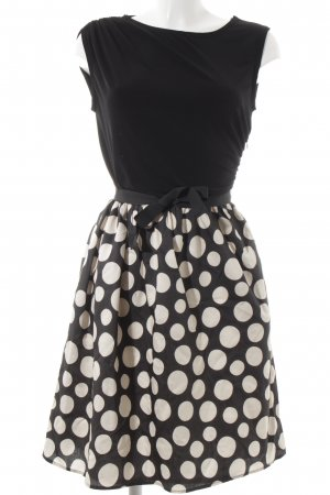 Dresses Unlimited Mini Dress black-white spot pattern '50s style