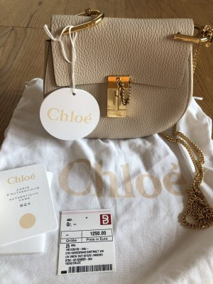 Chloé Mini Bag cream-oatmeal leather