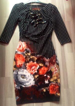 Drezz2Imprezz Kleid Etuikleid 36 Blumen floral, NP: 229,00 €