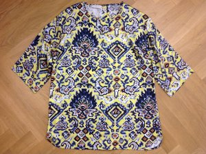 Dries van Noten Bluse Gr. IT 40 bunt