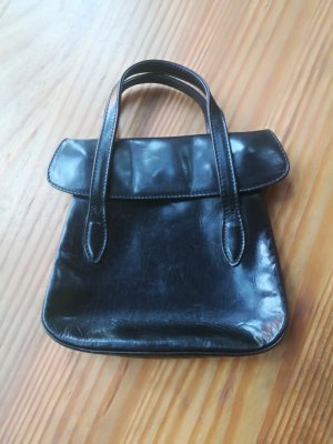 Dries van Noten Mini sac noir cuir