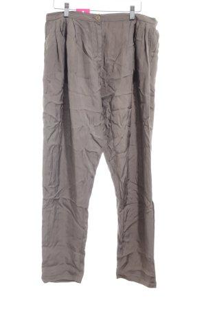 Dries van Noten Pantalone jersey grigio-verde stile casual