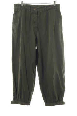 Dries van Noten Stoffen broek groen-grijs casual uitstraling