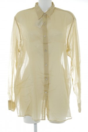 Dries van Noten Transparenz-Bluse dunkelgelb Casual-Look