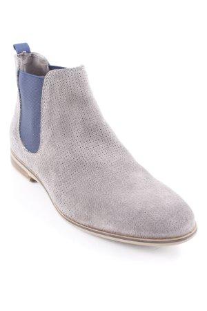 Drievholt Ankle Boots graubraun-dunkelblau Elegant