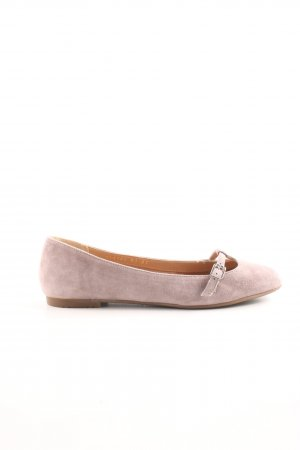 Drievholt Strappy Ballerinas pink casual look