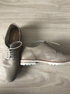 Drievholt Chaussures à lacets crème-beige